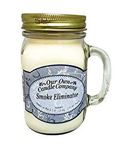Our Own Candle Company Smoke Eliminator 13 oz Mason Jar Candle