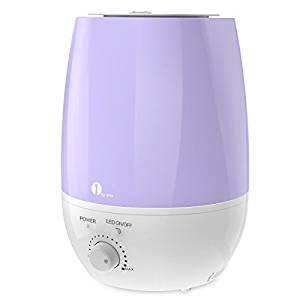 1byone Cool Mist Humidifier with Diffuser and LED lights