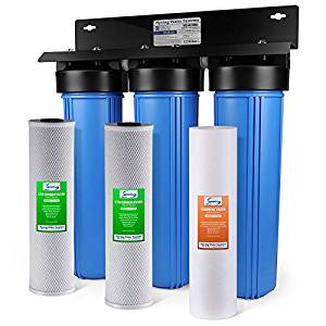 iSpring WKB32B WGB32B 3-Stage Whole House Water Filtration System